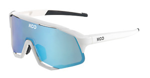 KOO Demos - Cycling Sports Sunglasses Zeiss Lens Zeiss Lens White/Turquoise