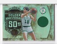 2011 Dave Cowens #/125 Jersey Panini Gold Standard Celtics