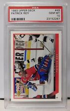 Patrick Roy 1993/94 Upper Deck #49 Hockey Card Montreal Canadiens  PSA 10 Gem MT
