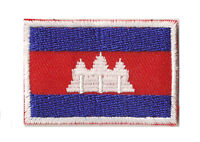 Écusson badge patche thermocollant patch Cambodge 45x30 mm