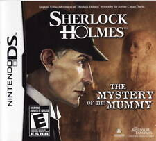 Sherlock Holmes: The Mystery of the Mummy NDS New Nintendo DS
