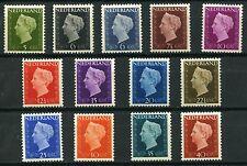Netherlands Definitives Queen Wilhelmina 1947-1948 MNH