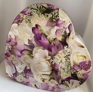 Tina Higgins Floral Heart-shaped Box 1998, Present Company Tri-Coastal Design