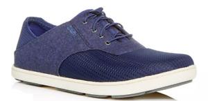 Olukai Nohea Moku Night/Night Loafer Shoe Men's US sizes 7-14 NEW!!!