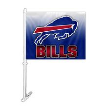 NFL NWT CAR WINDOW FLAG DESIGN STYLE OMBRE BUFFALO BILLS