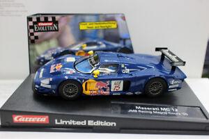 CARRERA EVOLUTION 1:32 Scale Plastic Slot Car Maserati MC 12 Redbull Racing gift
