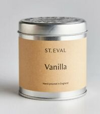 St Eval VANILLA Scented Candle in a Tin