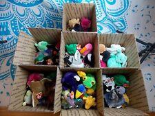 Ty Beanie Babies Plush Lot Box Teenie Beanies 90s Retro Collectables
