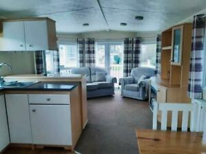 STATIC CARAVAN FOR SALE NORTH WALES DOUBLE GLAZED CENTRAL HEATED
