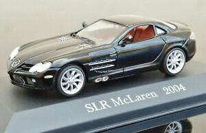 MERCEDES BENZ SLR MCLAREN 1:43 Scale Racing Car Model Metal Miniature Black