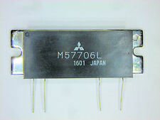 "M57706L  ""Original ""Mitsubishi""  4P SIP RF Power Output IC  12W 1 pc"