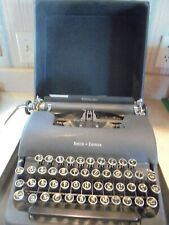 vintage Smith Corona Sterling manual portable typewriter w/case-very good