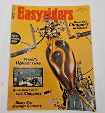 EASYRIDERS MAGAZINES JUNE 1971 FIRST EASYRIDERS ORIGINAL NOT A REPRINT