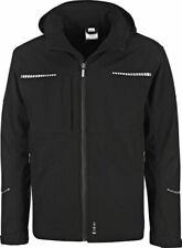 Triuso Winter Softshell Jacke schwarz Nero Arbeits Jacke Freizeit Übergang