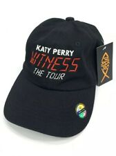 Katy Perry Strapback Cap Hat Witness The Tour Vip Exclusive Hat Black Nissi Caps