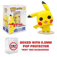 """Funko Pop Pokemon Games: Pikachu #553 Vinyl """"MINT"""" w/ 0.5mm case (IN STOCK)"""