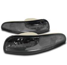 97-04 CHEVY CORVETTE C5 Z06 BUMPER SIGNAL PARKING LIGHTS LAMPS SMOKE 00 01 02 03