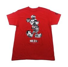 NEFF Mickey Mouse T-Shirt sz M Medium Red