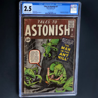 TALES TO ASTONISH #27 (1962) 💥 CGC 2.5 💥 1ST APPEARANCE OF ANT-MAN! MEGAKEY