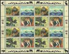 Timbres Animaux Nations Unies Vienne F 307/10 ** année 1999 lot 4205