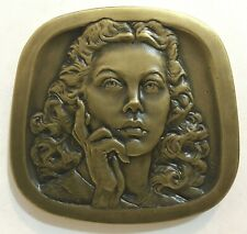 Hedy Lamarr - Jewish American Hall of Fame medal 2018 - bronze - max mintage 150