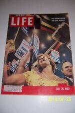 1960 LIFE Magazine Senator JOHN F KENNEDY Democratic Convention KENNEDY WINS