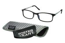 foster grant reading glasses Kramer Black +1.50 Computer E.READERS