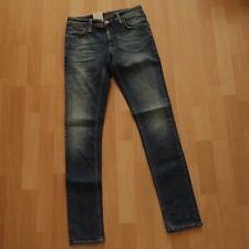 NEU Nudie Jeans Skinny LIN (skinny legs) Organic SHARP WORN 28/32