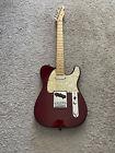 Fender Standard Telecaster 2004 MIM Midnight Wine Maple Neck Guitar + Gig Bag