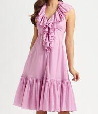 RALPH LAUREN USA Luxury Sommerkleid Rückenfrei Neckholder Kleid Dress Gr.38