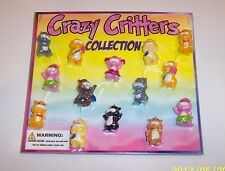 Gumball Machine Vending Header Toy Prize Charm - One Crazy Critters Display Card