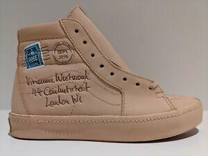 Vans SK8-Hi Vivienne Westwood Veggie Tan Leather Letter Size 5.5 VN0A4BV6XKF
