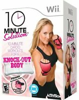 Cardio & Boxing Fitness Workout DVD with Weighted Gloves for Nintendo Wii
