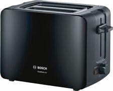Bosch 2-Scheiben-Toaster TAT6A113 ComfortLine Schwarz, 1090 Watt, NEU + OVP