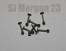 18g (1 mm) Bar/Barbell Body Piercing Jewellery