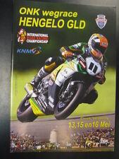 Programmaboekje ONK Wegrace Hengelo Gld 13-15-16 mei 2010