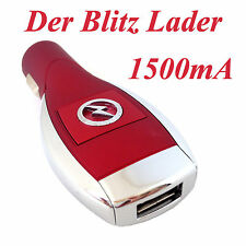 Universal USB Lader Ladegerät Ladeadapter Zigarettenanzünder Auto KFZ Handy R