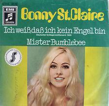 """7"""" 1969 RARE ! BONNY ST. CLAIRE : Ich weiss dass ich kein Engel bin /MINT-?"""
