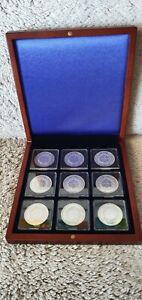 Série complète 10 Francs Hercule Argent / Neuves / dans coffret / France