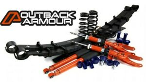 "Mitsubishi Triton MQ/MR 2015+ complete 2"" lift kit by Outback Armour 4X4"