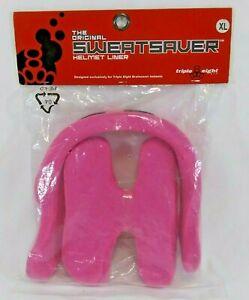 Sweatsaver Helmet Liner XL Neon Pink Triple Eight Brainsaver Helmet Liner NEW