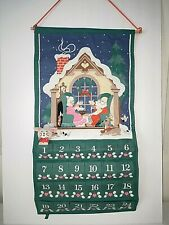 Vintage 1987 * NEW * Avon Christmas Countdown Advent Calendar WITH MOUSE !