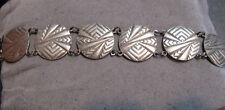 Vintage Art Deco Sterling Silver Bracelet