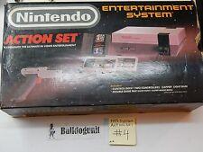 Nintendo NES Game Action Set CIB Game System Complete Box Mario Bros Duckhunt #4