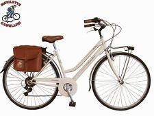 SP Bicicleta paseo cruiser retrò vintage bike citybike Montaña mujer ace crema