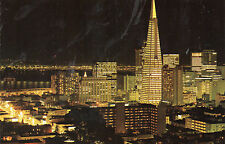 postcard USA   California San Fransisco's new and dramatic skyscapers unposted