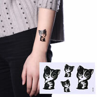 Waterproof Temporary Tattoo Sticker cute cat tatto stickers tatoo fake tattoo DD