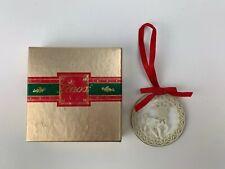 Genuine Lenox China Yuletide Ornament Reindeer With Box