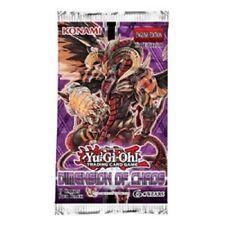 .YU-GI-OH 6 Booster Dimension of Chaos 1. Auflage deutsch 9 Karten je Booster!