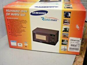 Samsung DE6612S Roadmate 24 Volt DC Microwave Oven Truck RV Boat Motor Coach